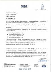 Referencje Awbud Zabrze-1