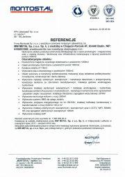 Referencje Montostal-1